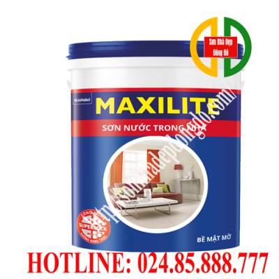 Sơn Maxilite trong nhà