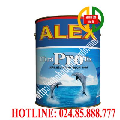 Sơn ngoại thất siêu bóng Alex Ultra Pro Ex