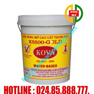 Sơn Kova K5500 trong nhà bán bóng