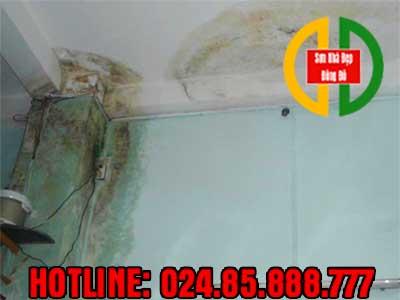 Nguyên nhân dẫn tới thấm dột tường, trần nhà ở Quận Thanh Xuân